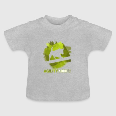 Agility Addict Green - Baby T-Shirt