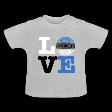 ESTONIA HEART - Baby T-Shirt