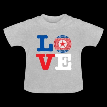 KOREA DEMO REP HEART - Baby T-Shirt
