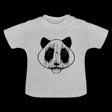 Black Metal Panda - Baby T-shirt