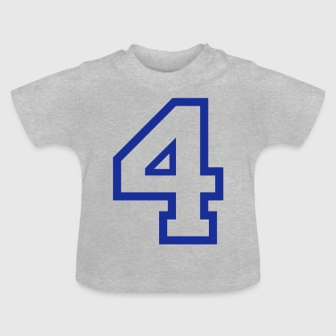 THE NUMBER 4-4 - Baby T-Shirt