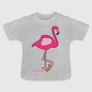 flamingo - Baby-T-shirt