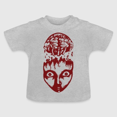 Red brain wrench - Baby T-Shirt