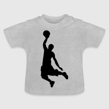 Basket-ball - Silhouette - T-shirt Bébé