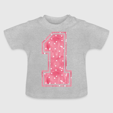 1 - 1-one-un an, un an - T-shirt Bébé