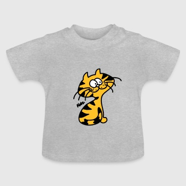 Tiger Katze Cat (c) - Baby T-Shirt
