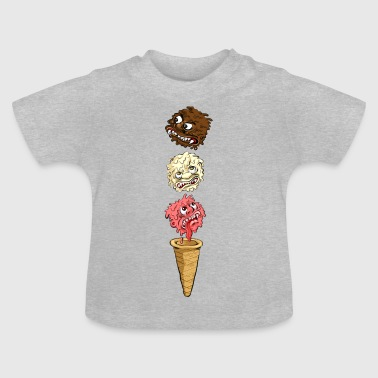 Monster Eis - Baby T-Shirt