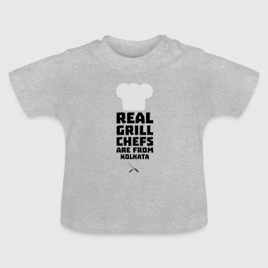 Real Grill Chefs are from Kolkata S16lr - Baby T-Shirt