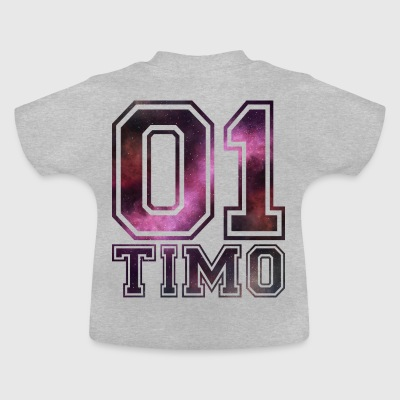 Timo name - Baby T-Shirt