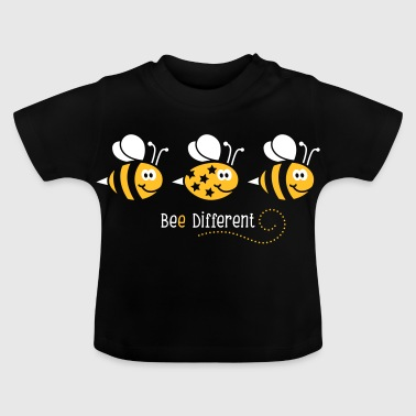 Be different - be yourself - Biene - Bee - 2C - Baby T-Shirt