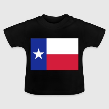 Flag Texas - Camiseta bebé