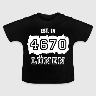 Established 4670 Lünen - Baby T-Shirt