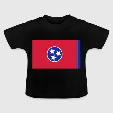 Flag Tennessee - Camiseta bebé