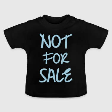 Not For Sale - Baby-T-skjorte