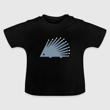 Silver hedgehog - Baby T-Shirt