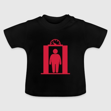 fat elevator man - Baby T-Shirt