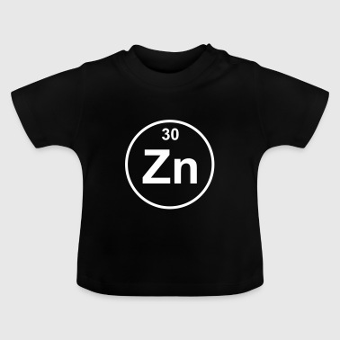 Zinc (Zn) (element 30) - Baby T-Shirt
