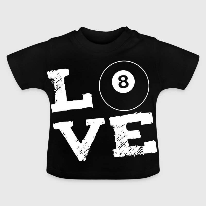 LOVE - Billard - Baby T-Shirt