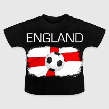 England football fan flag gift - Baby T-Shirt