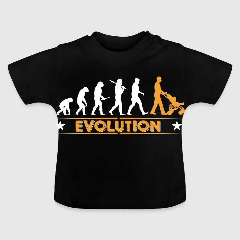 Walking Dad - Evolution - Baby T-Shirt