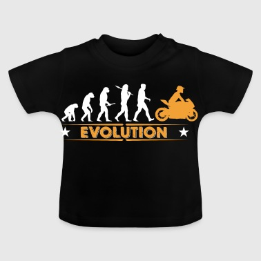 Biker - Evolution - Baby T-shirt