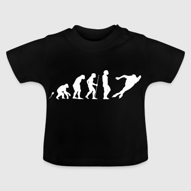 Eislaufen Evolution Fun Shirt - Baby T-Shirt