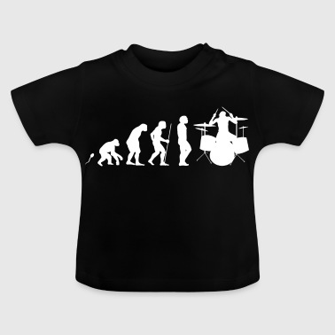 Schlagzeug Evolution Fun Shirt - Baby T-Shirt