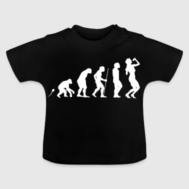 Gesang Evolution Fun Shirt - Baby T-Shirt