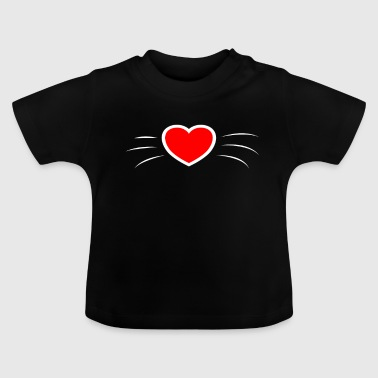 Divertido regalo de gato del Kpop, los gatos kitty amor - Camiseta bebé