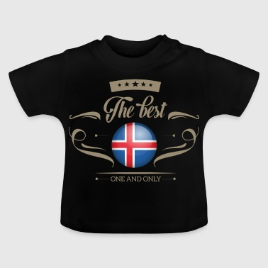The Best Island - Iceland - Baby T-Shirt