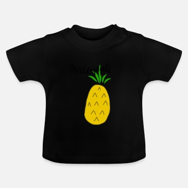 Pineapple Draw Pineapple - Baby T-Shirt