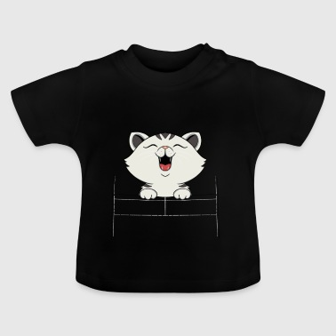 tigrato1 White Cat - T-shirt Bébé