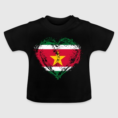 THUISLAND GIFT ROOTS LOVE Suriname - Baby T-shirt