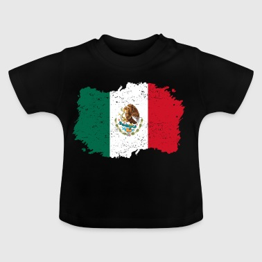 Roots Roots Flag geboorteland Mexico png - Baby T-shirt