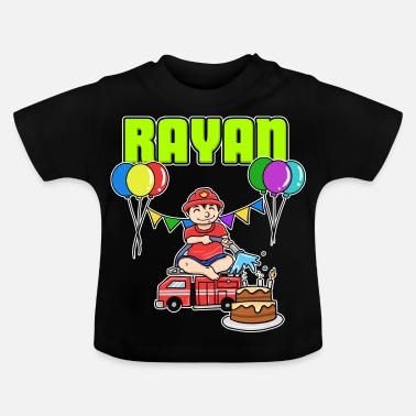 Rayan Fire Department Rayan Gift - Baby T-Shirt