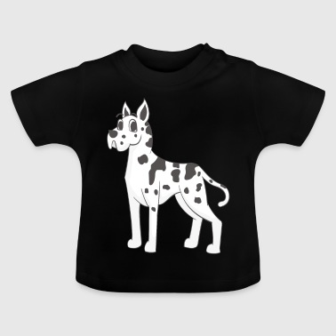 dogue allemand - T-shirt Bébé