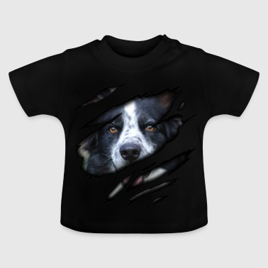 Border Collie in mir - Baby T-Shirt