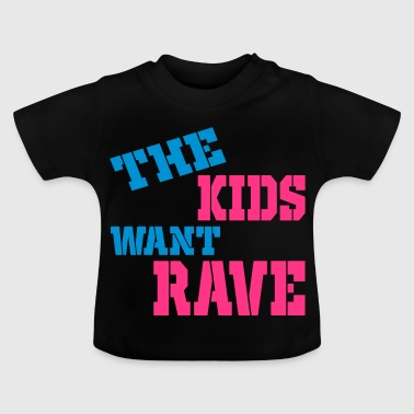 rave - Baby-T-shirt