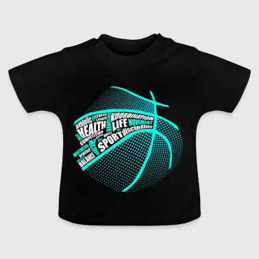 Sports Health Fitness Basketball - Baby-T-skjorte