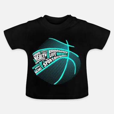 Health Sports Health Fitness Basket - Baby-T-shirt