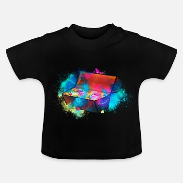 Treasure Treasure treasure chest colorful - Baby T-Shirt