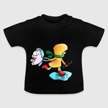 Kindheit Farbe - Baby T-Shirt