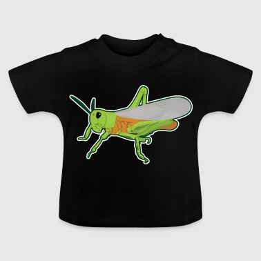 Grasshopper Haystack Grasshopper Insect Fauna - Baby T-Shirt