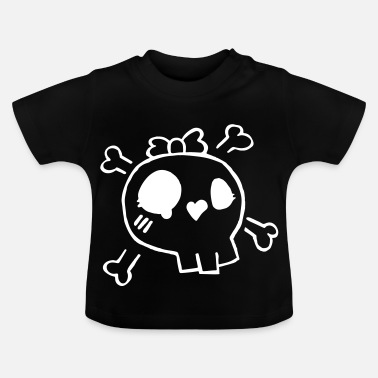 skully - Camiseta bebé