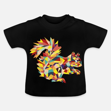 Ekorre retro Squirrel - Baby-T-shirt