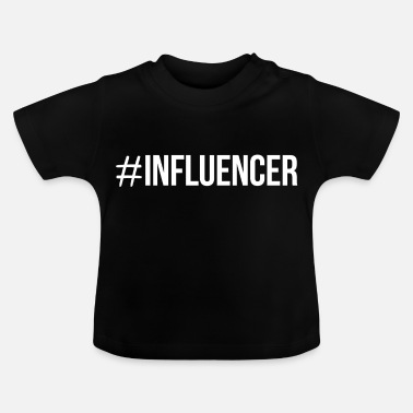 Instagram Influencer Blogger Instagram hashtag - Camiseta bebé
