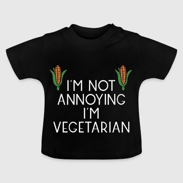 vegetarian vegan veggie corn maize corn9 - Baby T-Shirt
