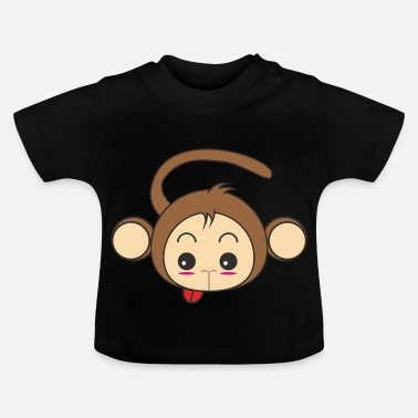 Cartoon-affe Cartoon Affe Design - Baby T-Shirt