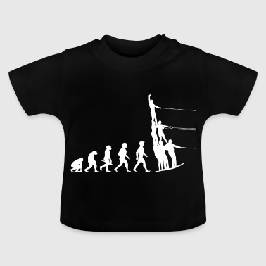 Evolution water skiing water sports - Baby T-Shirt
