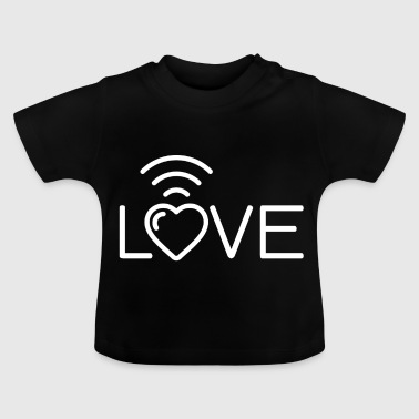 Love Wi-Fi Réception - T-shirt Bébé